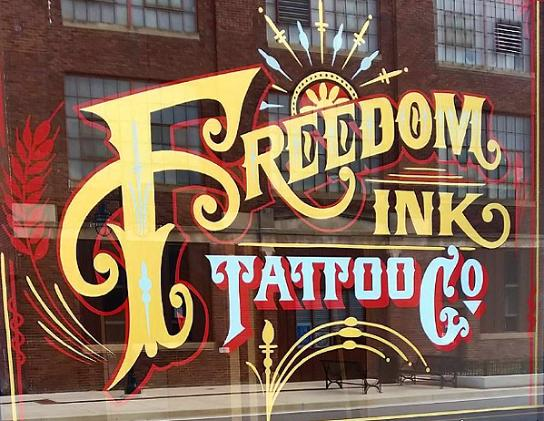 Freedom ink tattoos peoria il for Tattoo shops in illinois
